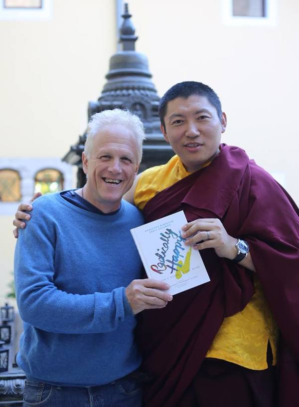 Phakchok Rinpoche and Erric Solomon