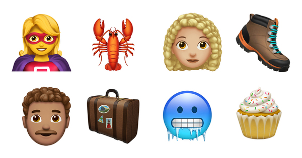 Apple brings more than 70 new emoji to iPhone with iOS 12.1 - Apple