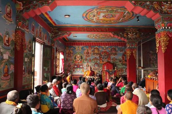 Khenpo Gyaltsen's Teaching in Penthaly Village, Nepal