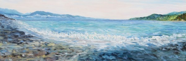 Gordon's Beach Vancouver Island  by Terrill | Artwork Archive