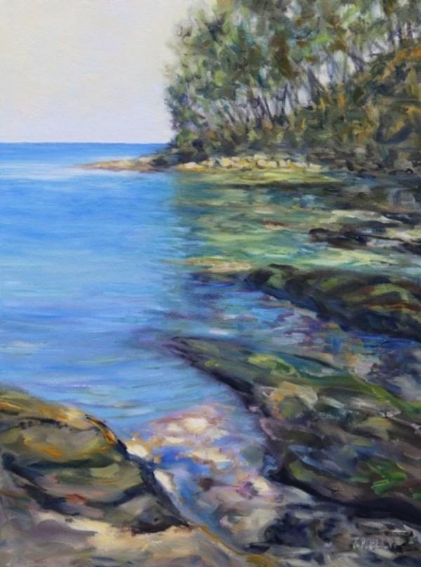 A small Emerald Bay Mayne Island B.C.  by Terrill | Artwork Archive