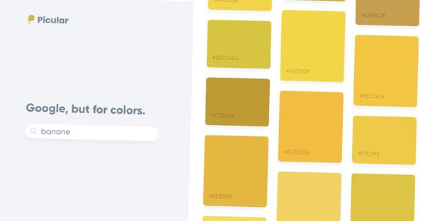 Picular : le Google des couleurs qui va changer la vie des graphistes