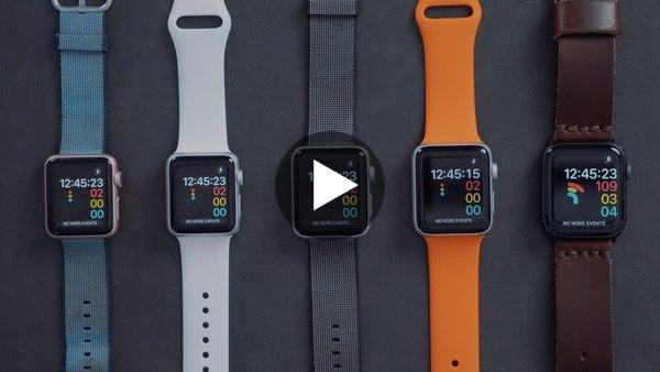 🇬🇧Srovnání rychlostí jednotlivých generací Apple Watch 😮