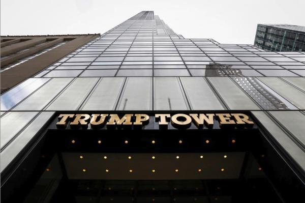 Trump Tower, het hoofdkwartier van de Trump Organization (foto: Reuters)