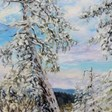 Winter with the Old Fir on the Ridge  by Terrill | Artwork Archive