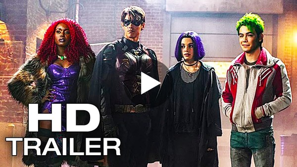 TITANS Official Trailer #2 (2018) DC Universe Series HD - YouTube