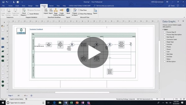 Design and automate business workflows using Excel Microsoft Flow and Visio - THR2329 - YouTube