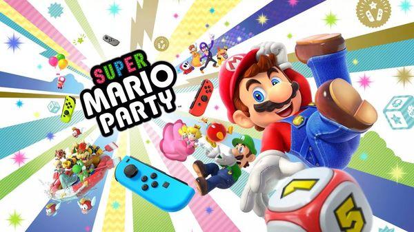 Super Mario Party Review: Feest met vier personen