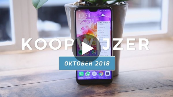 Dit zijn de beste smartphones van oktober 2018 - Telekoopwijzer video (Dutch) - YouTube
