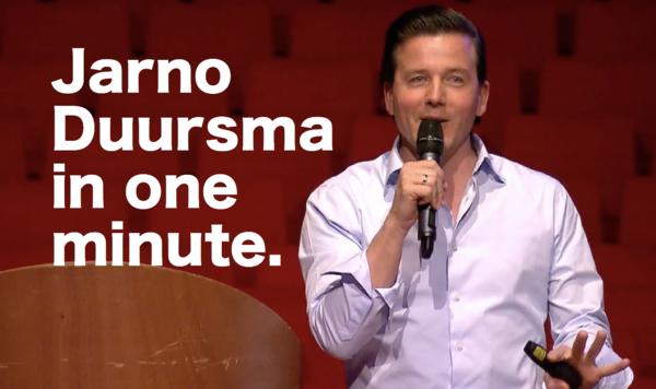 Video: Jarno Duursma in 1 minute.
