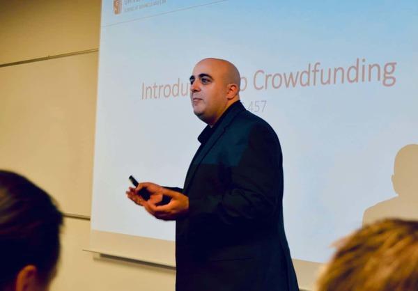 Crowdfunding master opleiding bij universiteit in Noorwegen