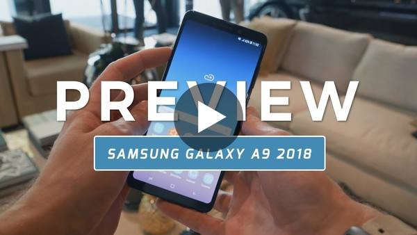 Samsung Galaxy A9 2018 preview (Dutch) - YouTube