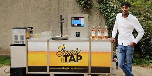 Met SimpleTap kunnen bezoekers hun eigen biertje tappen - EventGoodies