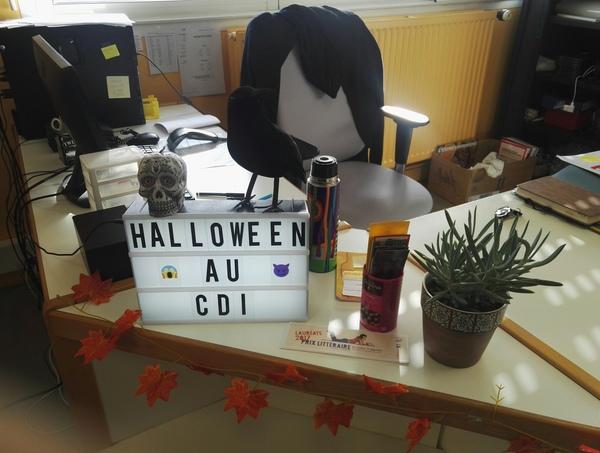Halloween au CDI