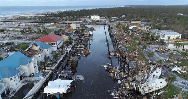 WATCH: Drone footage shows Hurricane Michael destruction in Mexico Beach