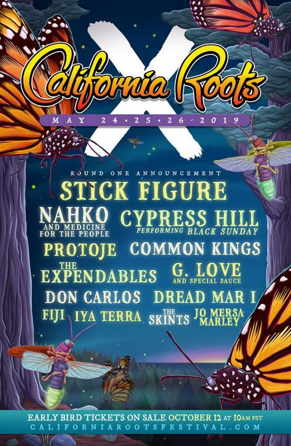 California Roots Music & Arts Festival (10th Anniversary) - First Round of Artists Announced! | Grateful Web