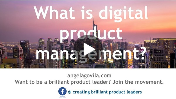 What is a digital product (Digital Product Management) - YouTube