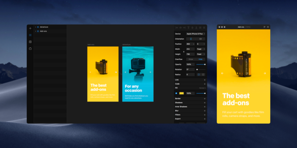Framer - Interactive Design Tool