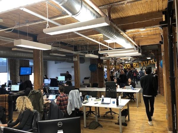 Ritual's office in Toronto.