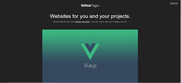 Deploy vue-cli 3 project to github pages