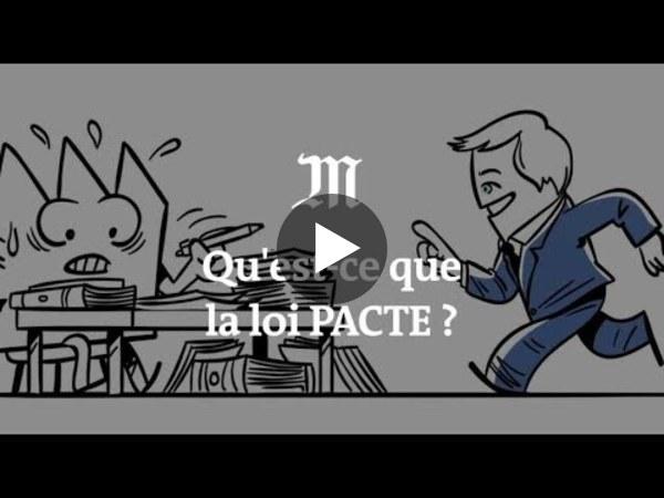 Comprendre la loi PACTE, censée «transformer les entreprises» - YouTube