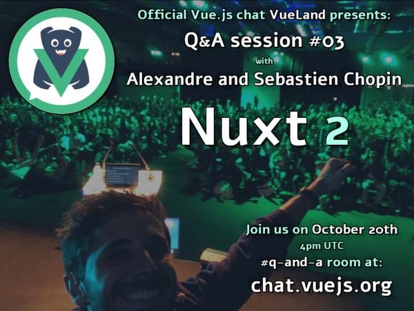 115: Q&A with the Nuxt js creators