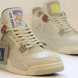 Peperdure custom sneakers: Nike Air Jordan IV Game Boy Edition
