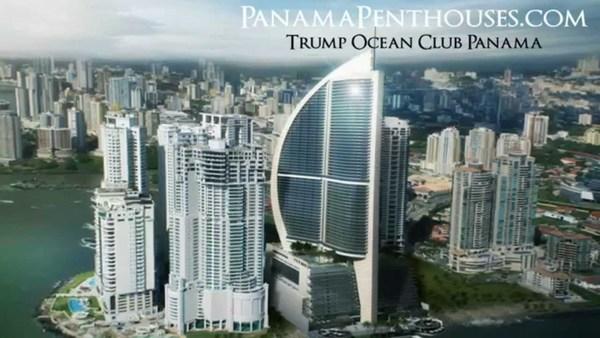 De Trump Ocean Club in Panama City ging over de kop, maar Trump hield er naar schatting tussen de $30 miljoen en $55 miljoen aan over