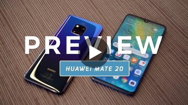 Huawei Mate 20 preview (Dutch) - YouTube