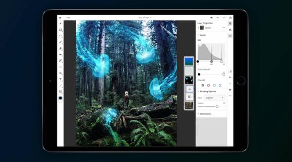 Photoshop CC para iPad Pro