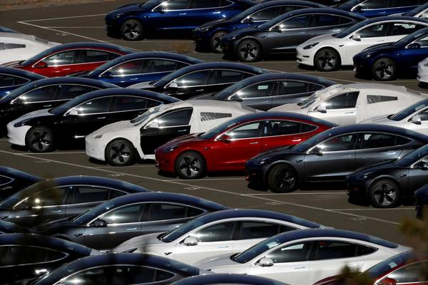 Tesla rises after co launches new Model 3 for $45,000 | Reuters