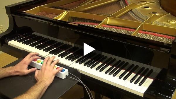 Piano Genie Improvisation #2 - YouTube