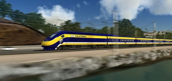 $77B bullet train officials approve central California stretch                     | Construction Dive