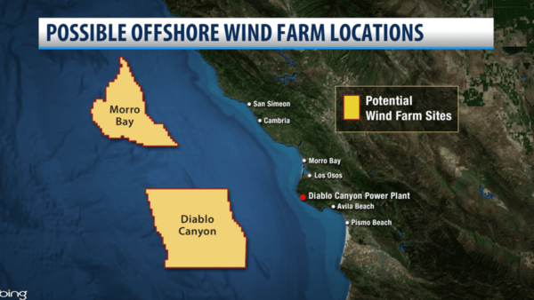 U.S. Department of Interior soliciting interest in developing Central Coast offshore wind farms | KSBY.com