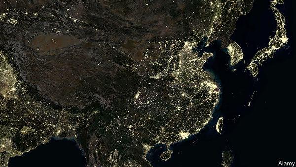 Wie sich China sukzessive in 19 Mega-Regionen aufteilen will