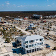 Among the ruins of Mexico Beach stands one house