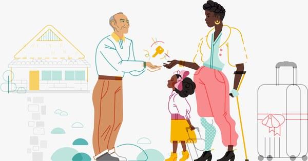 Diese Illustratorin will Airbnb inklusiver machen