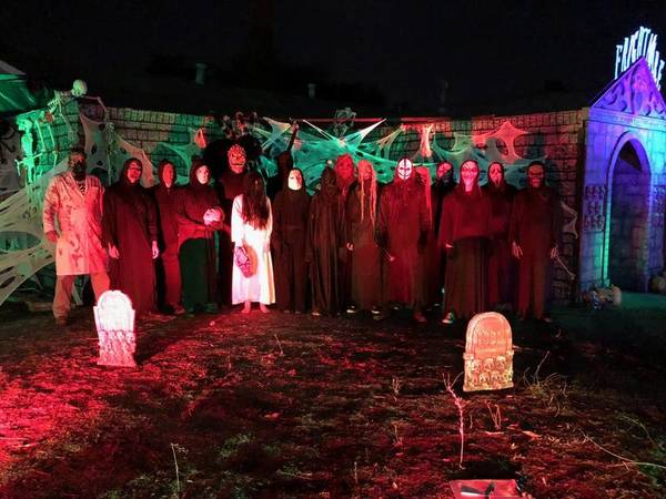 Freaky 'Frightmare Home Haunt' Donations Benefit Food Bank | Livermore, CA Patch