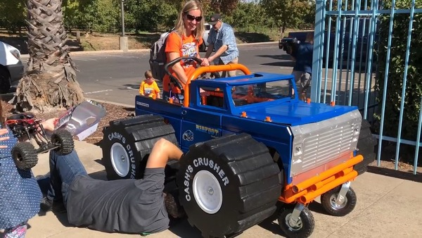 Turlock kid crushes Halloween with a custom wheelchair costume | The Fresno Bee