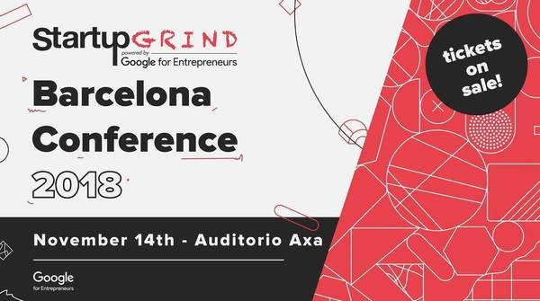 Get 50% discount to Startup Grind Barcelona Conference with code: BarcinnoRocks