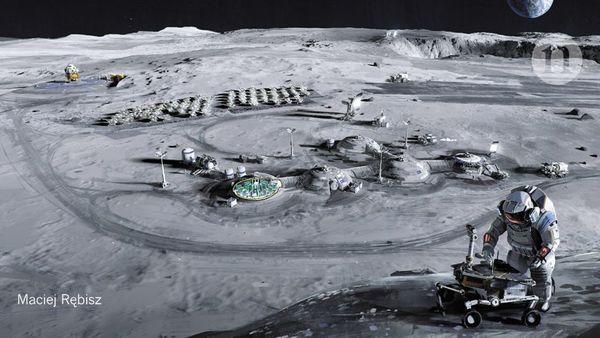In Deutschland steht das größte Mond-Trainingszentrum weltweit