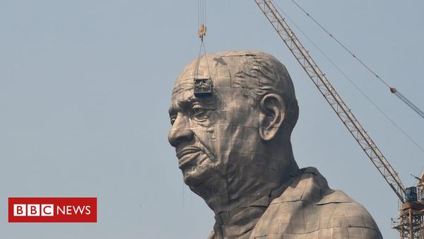 In Indien wird diese Woche die größte Statue der Welt enthüllt