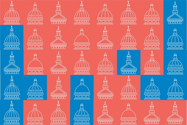 Which state legislatures might go blue this fall