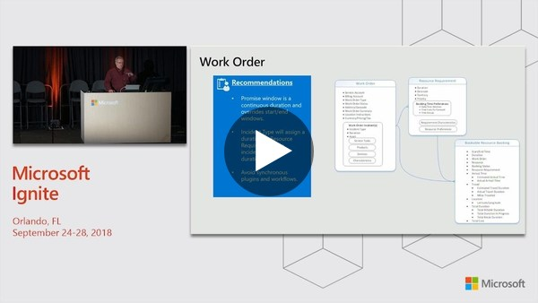Microsoft Dynamics 365 for Field Service: Deployment best practices - BRK2478 - YouTube