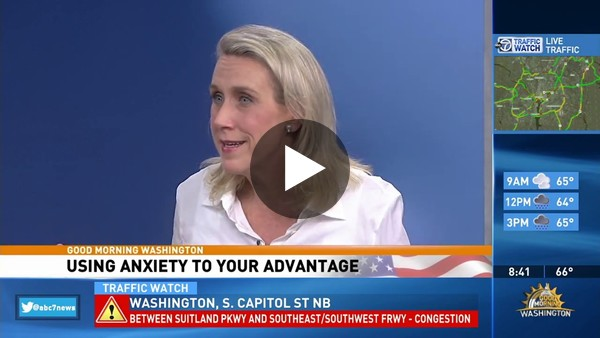 How To Hack Your Anxiety, WJLA 24 7, Alicia H Clark, PsyD - YouTube