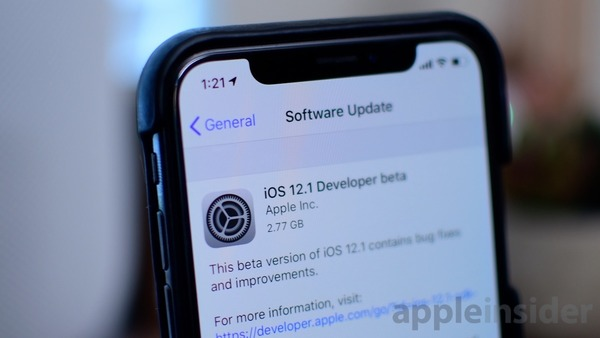 Major US carriers don't support dual SIM at launch of iOS 12.1