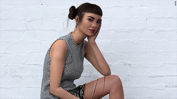 Virtual influencer Lil Miquela