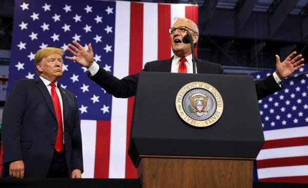 De Republikeinen Kevin Cramer heeft een goede kans de Senaatszetel van North Dakota op de Democraten te heroveren (foto: Reuters)