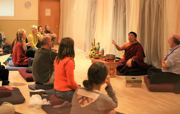 Phakchok Rinpoche teaching on the accumulation of merit