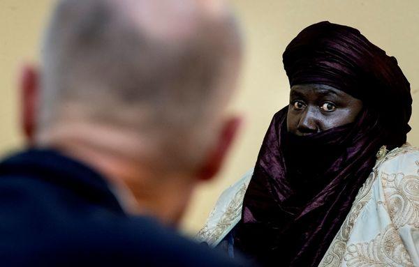 Minister Blok in Agadez